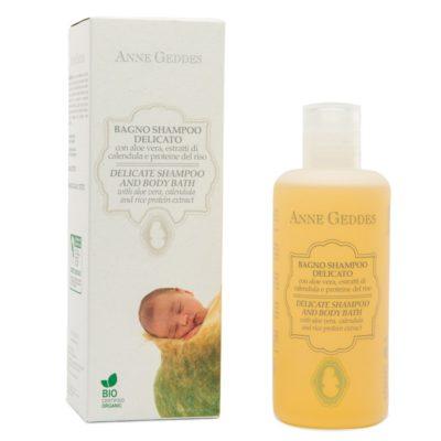 Baby Sanfte Waschlotion u. Shampoo BIO, 250 ml – Anne Geddes