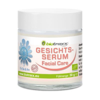 Biotraxx Natural Care Gesichts Serum 30g