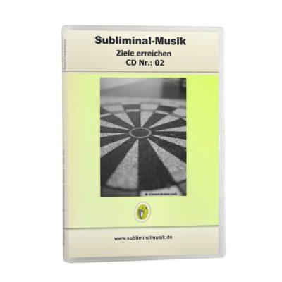 Subliminalmusik CD-Nr. 02 Ziele erreichen