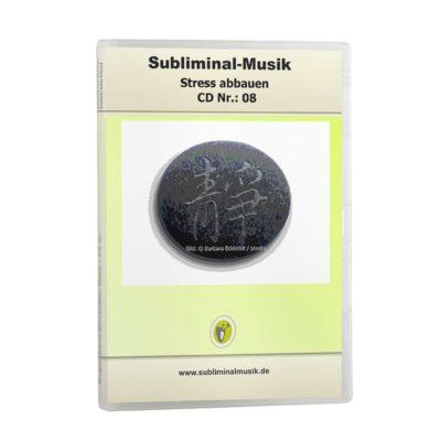 Subliminalmusik CD-Nr. 08 Stress abbauen, Ruhe und Gelassenheit