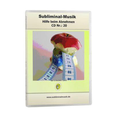 Subliminalmusik CD-Nr. 20 Hilfe beim Abnehmen
