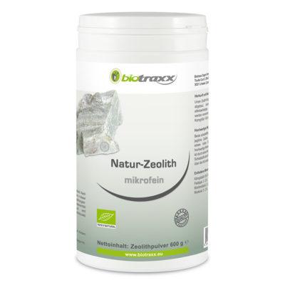 Natur-Zeolith microfein, 600g Füllmenge mit 1000ml Volumen – in Vorteilsdose