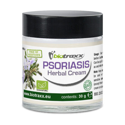 Biotraxx Psoriasis Herbal Creme, 30g