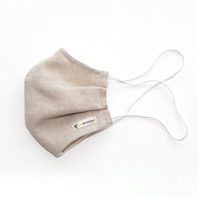 Biotraxx Gesichtsmaske 4 Schichten Hanf Baumwolle